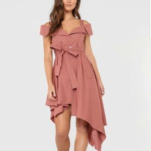 Women's Perfect Day Date Dress-Mauve